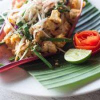 Fotinis Basket-Phad Thai (ταϊλανδέζικα noodles) με γαρίδες