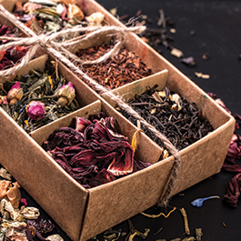 Fotinis Basket-FOTINIS AYURVEDA TEA COLLECTION