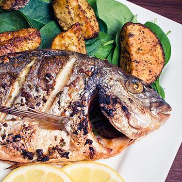 Fotinis Basket-Ψαράκι <br> στο φούρνο